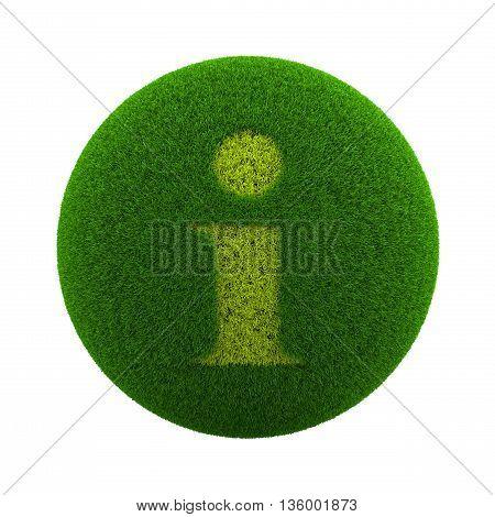 Grass Sphere Information Icon