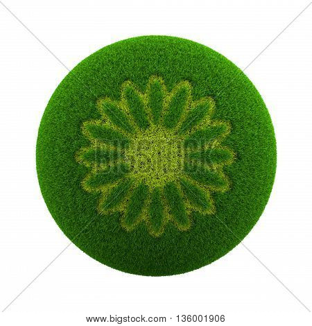 Grass Sphere Spring Icon