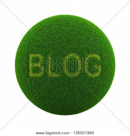 Grass Sphere Blog Icon