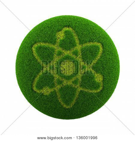 Grass Sphere Science Icon