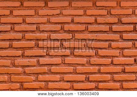 Brick wall Background of red brick wall pattern texture. Great for graffiti inscriptions.