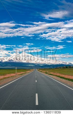 Paved Mountain Road