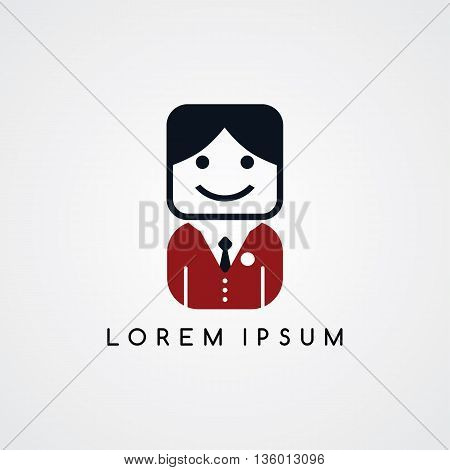 Man Avatar With Formal Suit