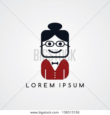Woman Avatar With Formal Suit