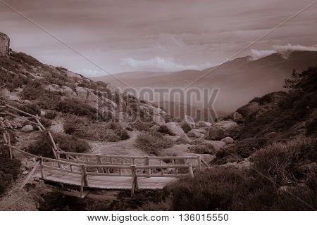 Peñalara ,Sierra de Guadarrama National Park, Spain