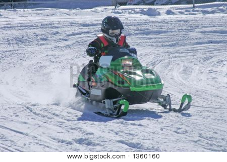 Infant Snowmobiler