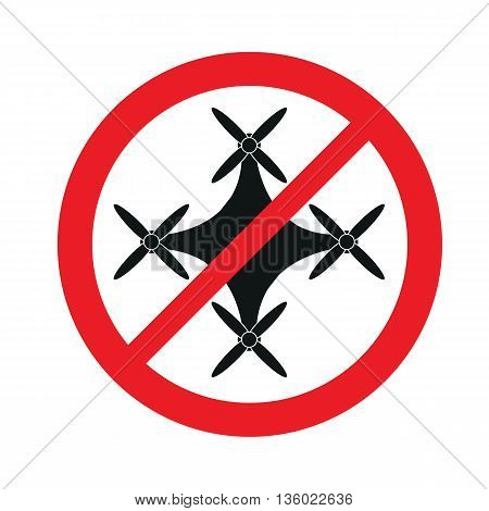 Stop drones, signs ban on flying and the use of drones