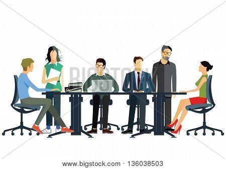 business cooperation team, businessman, communication, cooperation, partnershi