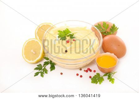 mayonnaise with ingredient
