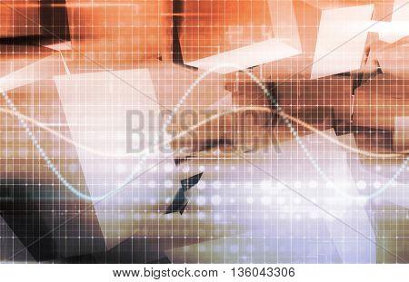 Software Development on a Mobile Platform Software 3d Illustration Render