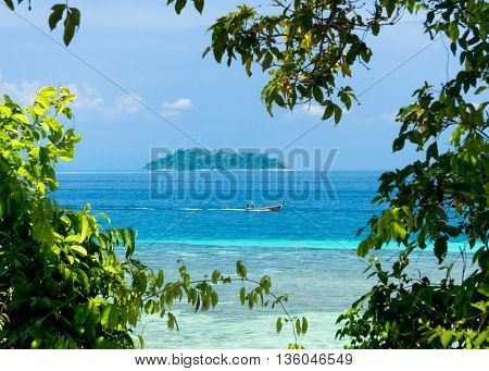 Desert Island Idyllic Seascape