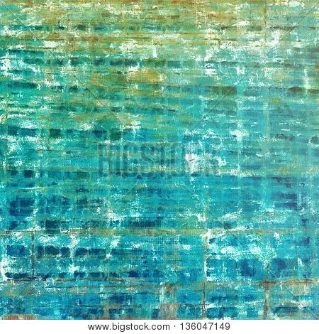 Nice looking grunge texture or abstract background. With different color patterns: yellow (beige); brown; green; blue; cyan; white