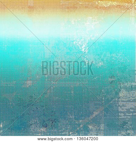 Abstract faded retro background or shabby texture with vintage style design and different color patterns: yellow (beige); brown; gray; blue; cyan; white