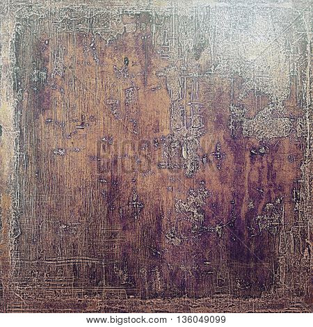 Ancient textured background or shabby backdrop. With different color patterns: brown; gray; purple (violet); black; pink