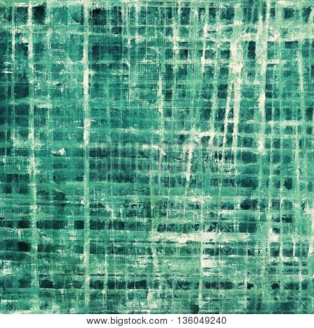Scratched vintage texture, grunge style frame or background. With different color patterns: green; blue; cyan; white