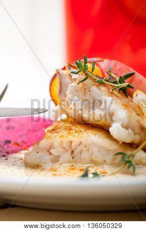 Sea Bream Fillet Butter Pan Fried