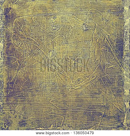 Veined grunge background or scratched texture with vintage feeling and different color patterns: yellow (beige); brown; gray; purple (violet)