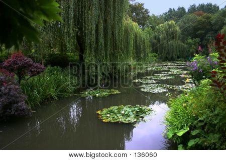 Monet House. Pond