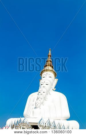 Five Buddha Statue