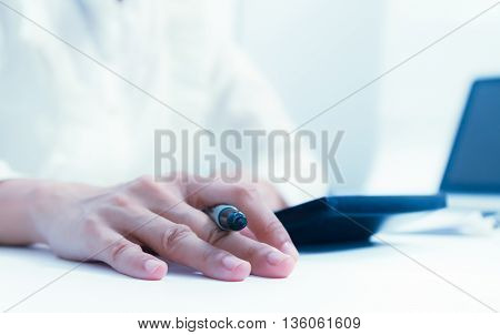 Analysis Business Accounting,business Finance Concept And Business Content,officer Working On Proces
