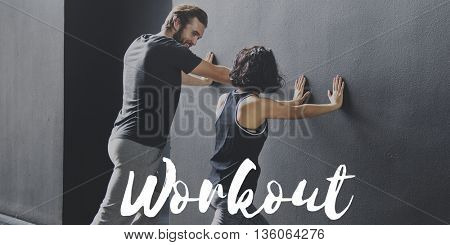 Exercise Workout Wellness Sports Concept