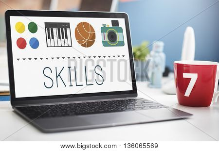 Skills Expertness Human Resources Intelligence Concept