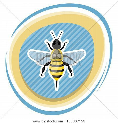 Bee Colorful Icon