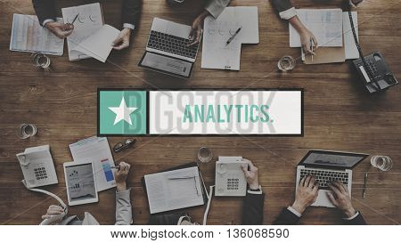 Analytics Analysis Statistics Information Concept