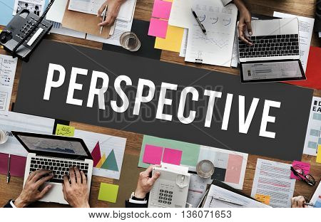 Perspective Attitude Position Standpoint View Concept