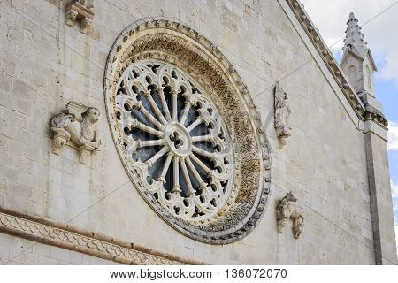Rose Window Cathedral Italy
