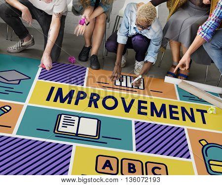 Improvement Adcance Motivation Potential Education Concept
