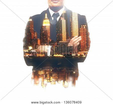 Businessperson With Crossed Arms