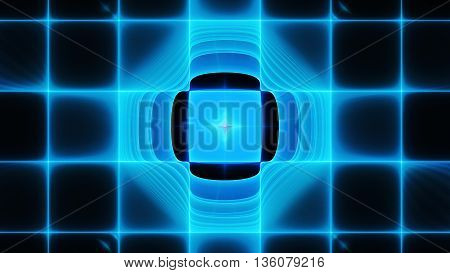 Thermal infrared visor. Grid radar. 3D illustration. Sacred geometry. Mysterious psychedelic relaxation pattern. Fractal abstract texture. Digital artwork graphic design astrology alchemy magic.
