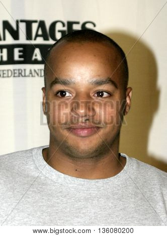Donald Faison at the Celebrity Gala Opening For National Tour Of Movin' Out held at the Pantages Theatre in Hollywood, USA on September 17, 2004.