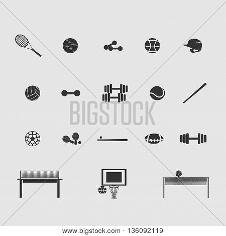sport vector image set of new drawing