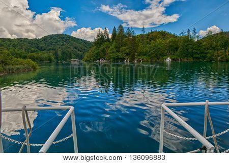 Plitvice Lakes National Park of Croatia Boat Cruise