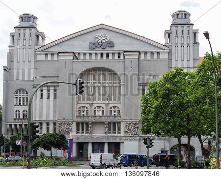 BERLIN GERMANY - JUNE 19 2016: famous Goya club in Berlin