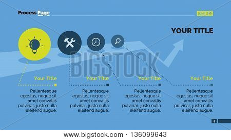 Growth infographic diagram. Presentation slide, infographic chart, brochure. Concept for infographics, business templates, reports. Can be used for topics like business strategy, marketing analysis