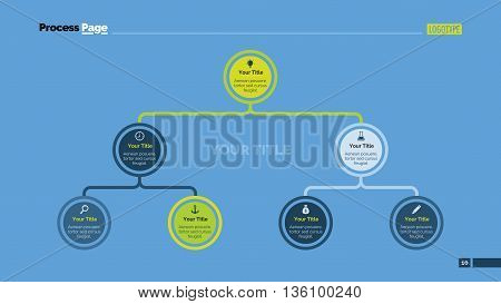 Structure diagram. Element of chart, presentation, diagram. Concept for organizational chart, business templates, presentation. Can be used for topics like management, strategy, teamwork