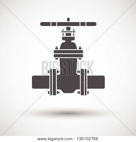 Pipe Valve Icon