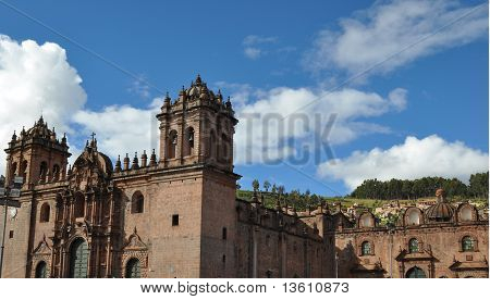 Cathedral in Cuzco, Peru