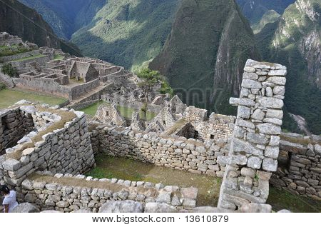 Inca Construction at Machu Picchu