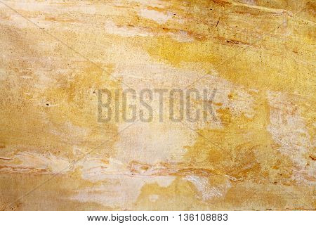 Yellow and brown marble texture background surface