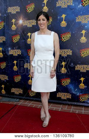 Maril Davis arrives at the 42nd Annual Saturn Awards on Wednesday, June 22, 2016 at the Castaway Restaurant in Burbank, CA.