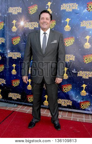 Jeff Rector arrives at the 42nd Annual Saturn Awards on Wednesday, June 22, 2016 at the Castaway Restaurant in Burbank, CA.