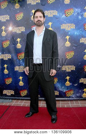 Zac Galligan arrives at the 42nd Annual Saturn Awards on Wednesday, June 22, 2016 at the Castaway Restaurant in Burbank, CA.