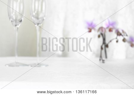 Festive blurred background. Abstract Wedding background. Blur Backgrounds Concept