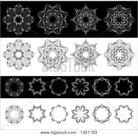 Circular Design Elements.
