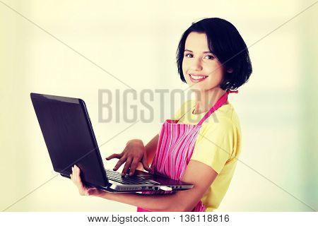 Modern housewife or female worker