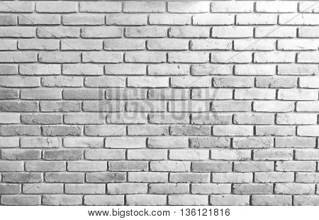 close up grey brick wall texture background